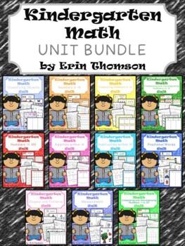 Kindergarten Math ~ The Bundle