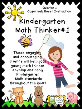 Critical Thinking - Kindergarten Math Thinker #1