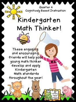 Critical Thinking - Kindergarten Math Thinker #4