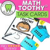 Kindergarten Math Toothy™ Task Kits   Games   Centers   Spiral Review Bundle