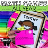 Kindergarten Math Toothy® Task Kits   Math Centers   Math Games