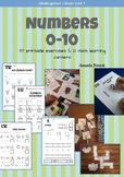 Kindergarten Math - Unit 1: Numbers 0-10