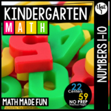Kindergarten Math: Unit 1 Numbers 1-10