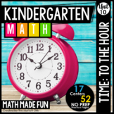 Kindergarten Math: Unit 10 Time to the Hour