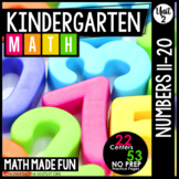 Kindergarten Math: Unit 2 Numbers 11-20