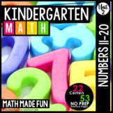 Kindergarten Math: Unit 2 Numbers 11-20