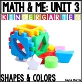 Kindergarten Math Shapes