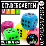 Kindergarten Math: Unit 4 Comparing Numbers