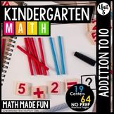 Kindergarten Math: Unit 5 Addition