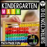 Kindergarten Math: Unit 6 Subtraction