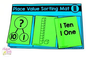 Kindergarten Math: Unit 7 Place Value (Numbers 11-19)