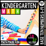 Kindergarten Math: Unit 7 Place Value (Numbers 11-19)