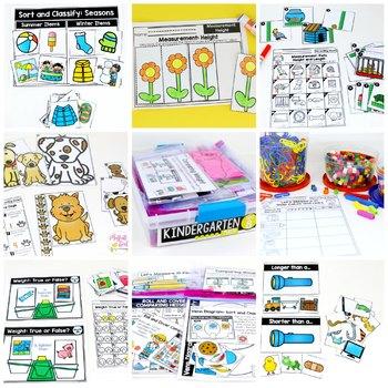 Kindergarten Math: Unit 8 Measurement and Data