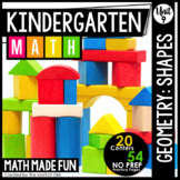 Kindergarten Math: Unit 9 Geometry: Shapes