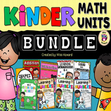Kindergarten Math Units BUNDLE