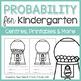 Kindergarten Math Units: Data Management BUNDLE