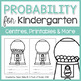 Kindergarten Math Units: Data Management BUNDLE