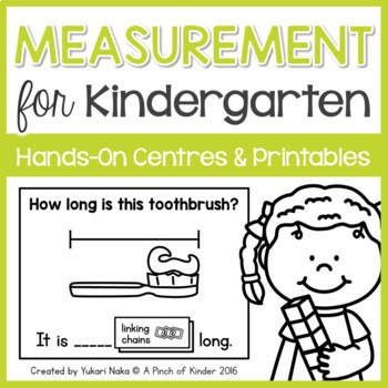 Kindergarten Math Units: MEASUREMENT BUNDLE