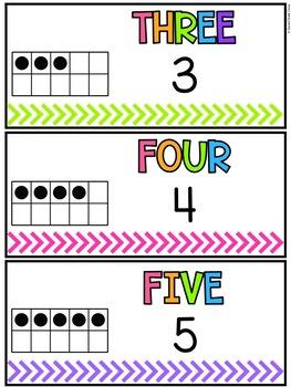 Kindergarten Math Vocabulary Cards (Aligned with Virginia SOLs)