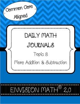 Kindergarten Common Core Math Vocabulary Cards - Topic 8 M