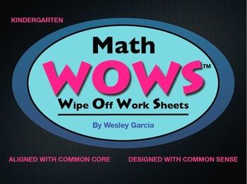 Kindergarten Math WOWS