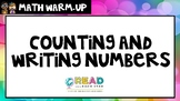 Kindergarten Math Warm-Ups: Counting and Writing Numbers