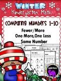 Kindergarten Winter Math Packet: Comparing Numbers