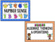 Kindergarten Common Core Math Word Wall *Editable*