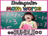 Kindergarten Math Works: **BUNDLE** (Digital Learning & Pr