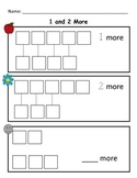 Kindergarten Math Worksheet: Count and Identify More