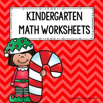 Kindergarten Math Worksheets - December