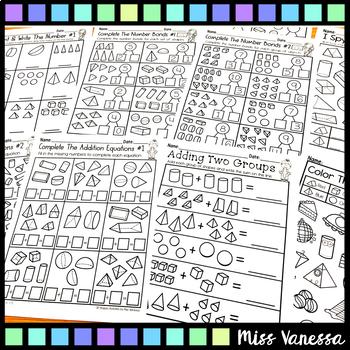 Kindergarten Math Worksheets Activities And Printables