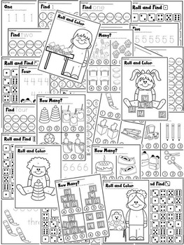 BACK TO SCHOOL WORKSHEETS * KINDERGARTEN MATH MEGA PACK