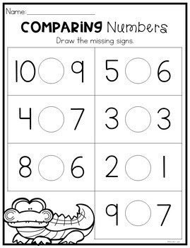 Kindergarten Math Worksheets Growing Bundle