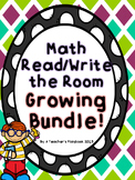 Kindergarten Math Write the Room Growing Bundle