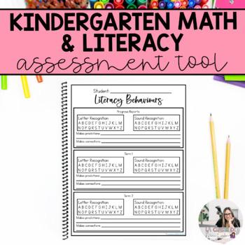 Kindergarten Math and Literacy Behaviours Checklists (Assessment Tool)