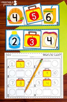 Kindergarten Math and Literacy Centers: Year Long BUNDLE