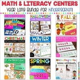 Kindergarten Centers: Math and Literacy Centers for the EN
