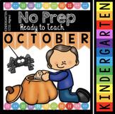 Kindergarten Fall Worksheets - Halloween Activities - Pumpkin Math - Reading