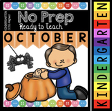 Kindergarten Fall Worksheets - Halloween Activities - Pumpkin Math - Reading