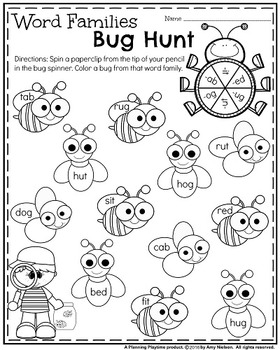 Kindergarten Math and Literacy Printables - May by ...