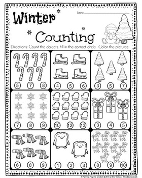 kindergarten math and literacy printables december by planning playtime. Black Bedroom Furniture Sets. Home Design Ideas