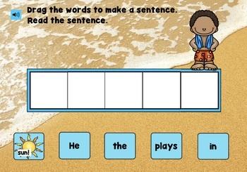 Kindergarten Math and Literacy for Summer (No Prep!)