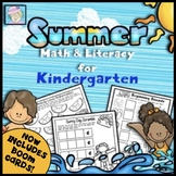 End of the Year Activities Summer Math & Reading | Math Worksheets Kindergarten
