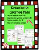 Kindergarten Math during Christmas