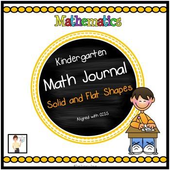 Kindergarten Math in Focus Math Journal - Chapter 7 Solid