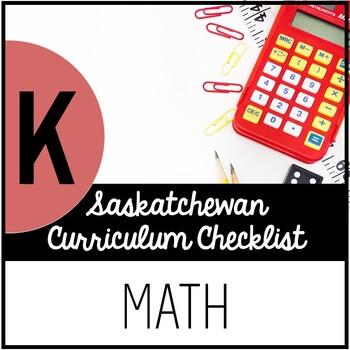 Kindergarten Mathematics - Saskatchewan Curriculum Checklists