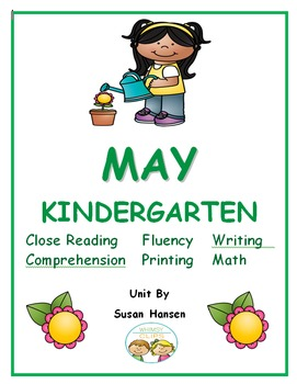 Kindergarten: May Activities