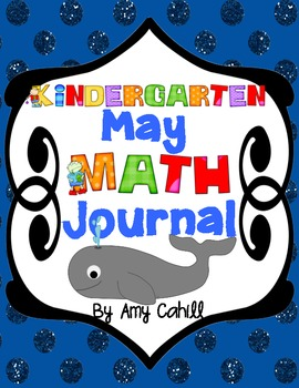 Kindergarten May Math Journal - Common Core