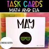 Kindergarten May Task Cards